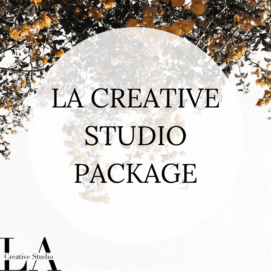 LA CREATIVE STUDIO PACKAGE ICON