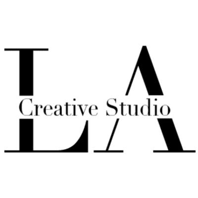 LA Creative Studio Logo Letters